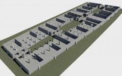 Narva Kreenholmi puuvillaladude laserskaneerimine ja 3D mudeli koostamine