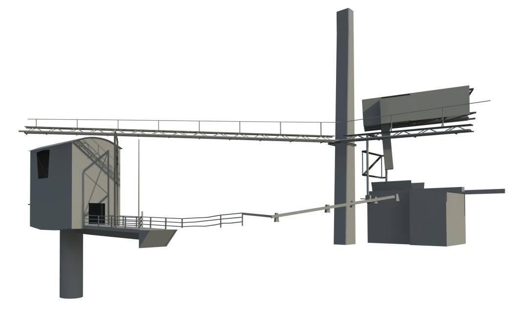 Laser scanning and 3D modelling of the cement factory in Gotland, Sweden