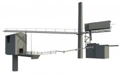 Tsemenditehase laserskaneerimine ja 3D mudeldamine Gotlandil, Rootsis