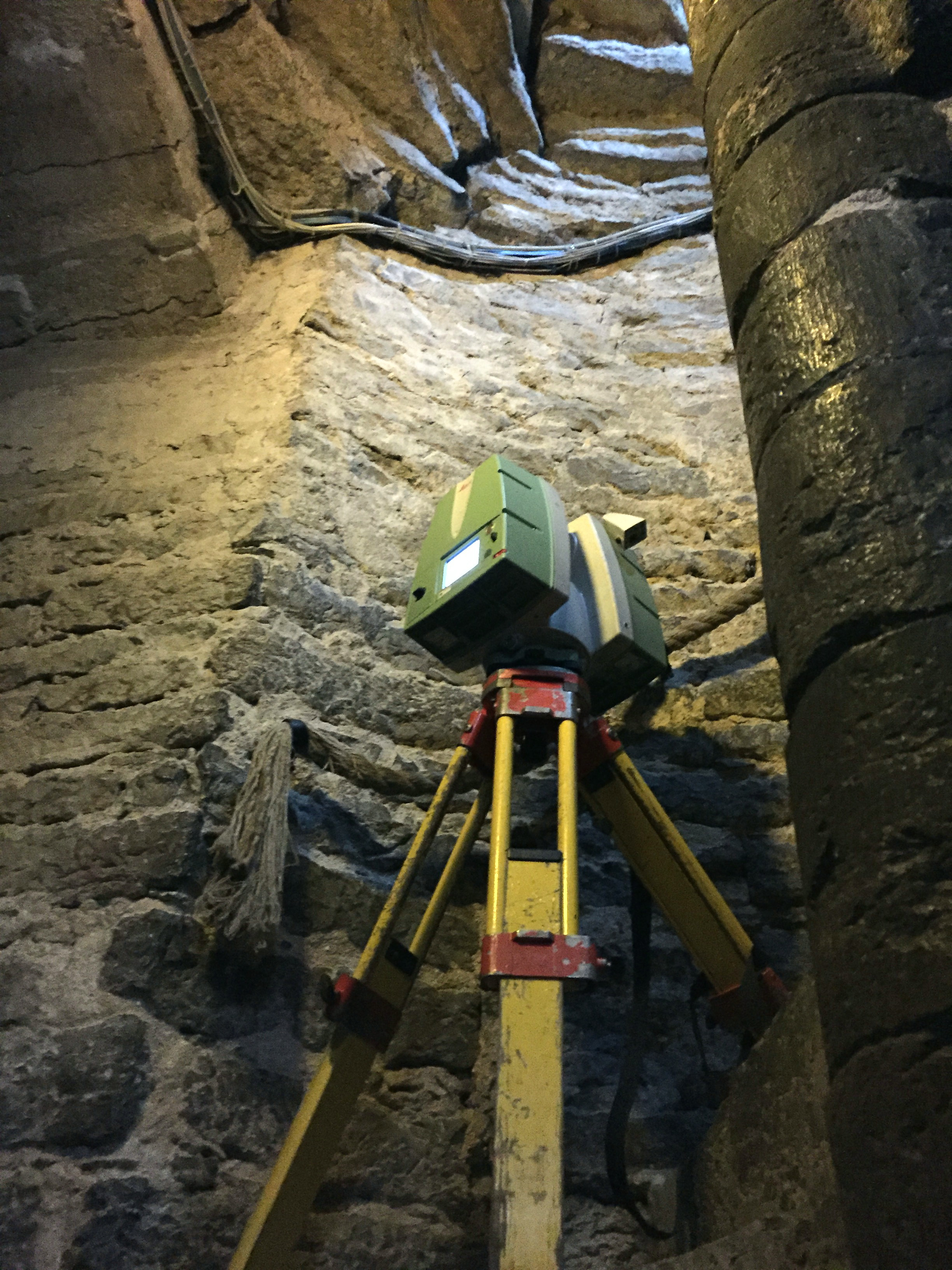 Laser scanning of the King's Chapel of the St Mary's Cathedral in Tallinn