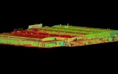 Norma tööstushoonete laserskaneerimine Laki 14 Tallinnas
