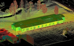 Linda Nektari Antsla tootmishoone laserskaneerimine ja 3D mudeldamine