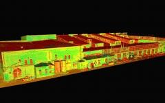 Telliskivi kvartali M-hoone laserskaneerimine