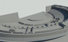 Tallinna Linnahalli kontserdisaali laserskaneerimine ja 3D mudeli koostamine