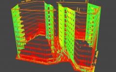 Lõõtsa 2a ja Lõõtsa 2b hoonete fassaadide laserskaneerimine