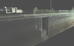 Paatela, Vaajakoski ja Kuhankoski lüüside ning Lehdesmäe silla laserskaneerimine Soomes