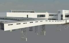 Tallinna Sadama D-Terminali laserskaneerimine ja 3D mudeli koostamine
