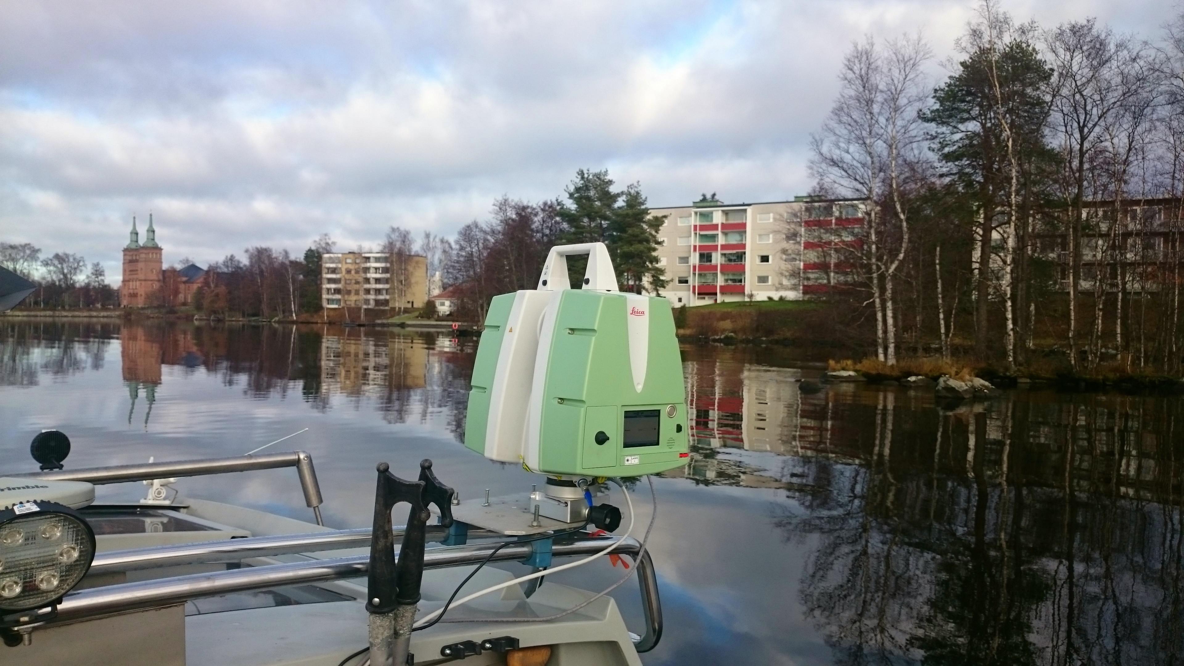 Tyrvää HEJ laserskaneerimine, Soome